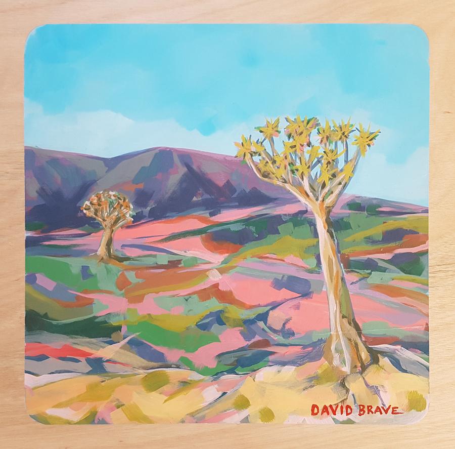 Oorlogskloof, David Brave